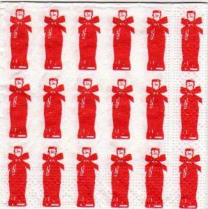 Serviette papier Coca Cola 25 cm x 25 cm