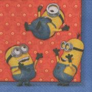 Serviette papier Les Minions