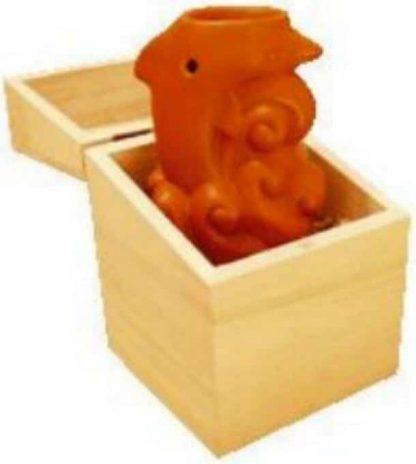 Brule parfum dauphin en céramique