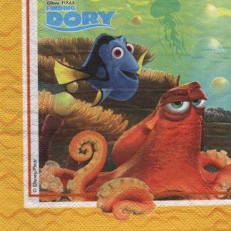 Serviette papier le monde de Dory
