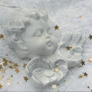 Serviette papier ange et paix