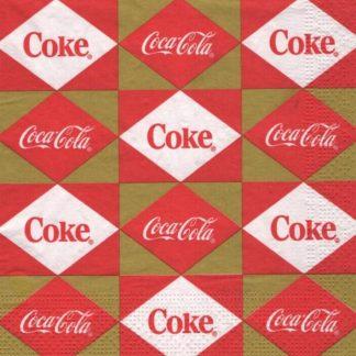 Serviette papier Coca Cola Coke