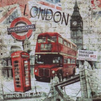 Serviette papier Londres et Big Ben