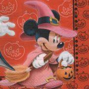 Serviette papier Mickey sorcier 33 cm x 33 cm
