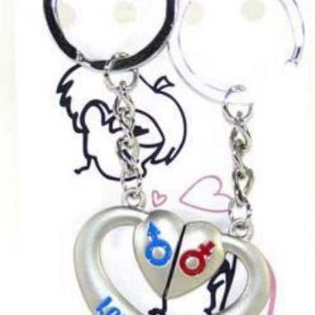 Porte clé Saint Valentin I Love You