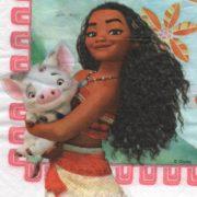 Serviette papier Vaiana 33 cm x 33 cm 3 plis