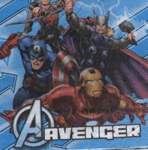 Serviette papier Avenger 25 cm x 25 cm 2 plis