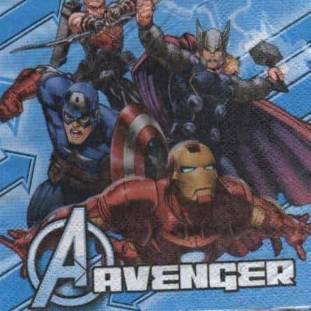 Serviette papier Avenger 25 cm x 25 cm