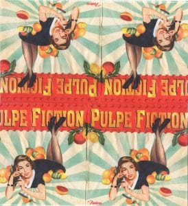 Serviette papier Pulpe Fiction
