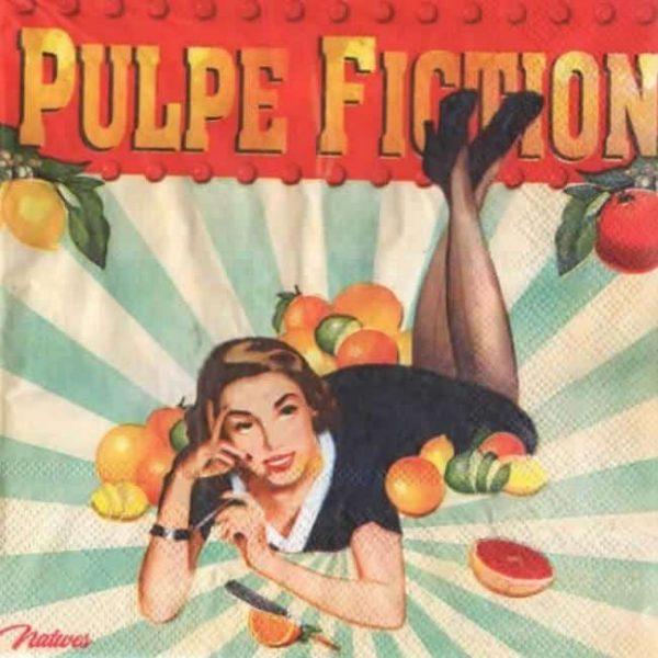 Serviette papier Pulpe Fiction