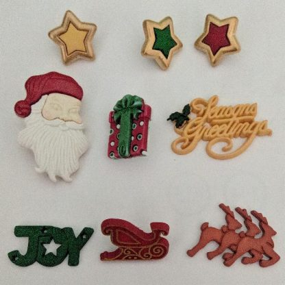 Boutons Noël