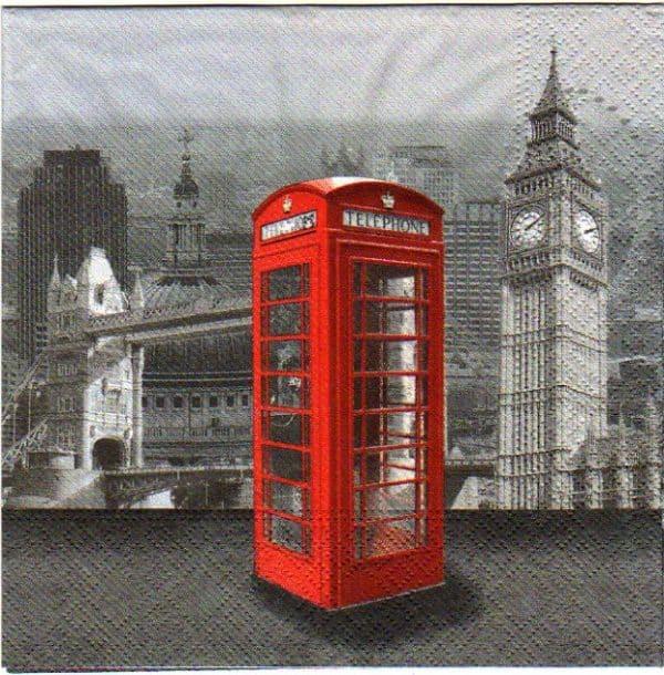 Londres et cabine
