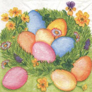 oeufs de Pâques 33 cm x 33 cm
