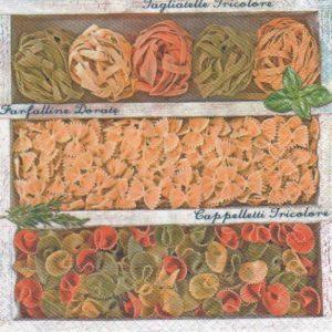 serviette pâtes