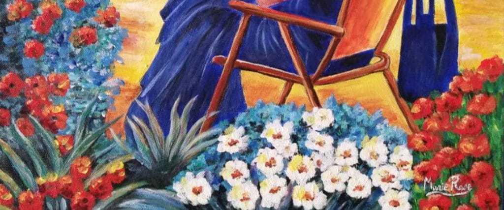 Marie-Rose Perez expose ses toiles à Saillagouse