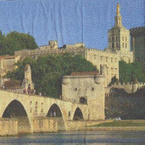 Serviette papier Avignon