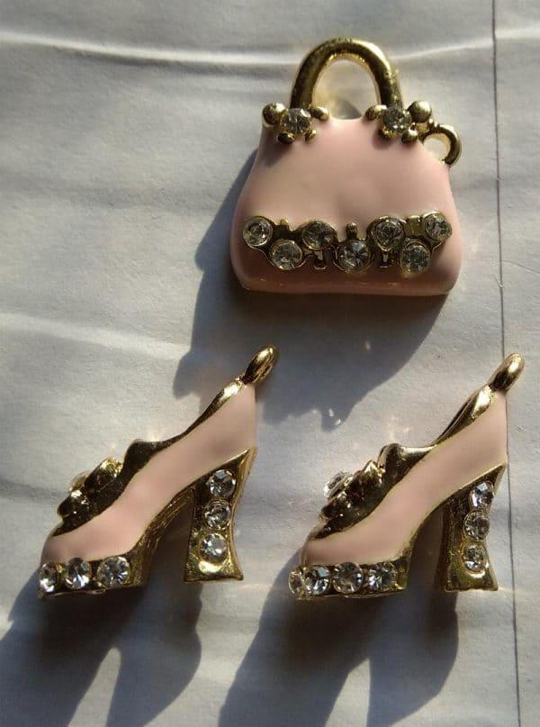 Pendentifs sac et chaussures