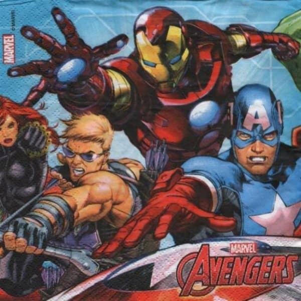 Serviette papier Avengers