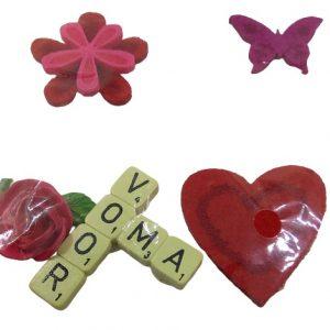 Stickers love et coeur