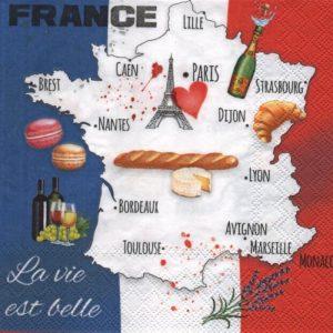 Serviette papier France