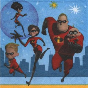 Serviette Incredibles 2
