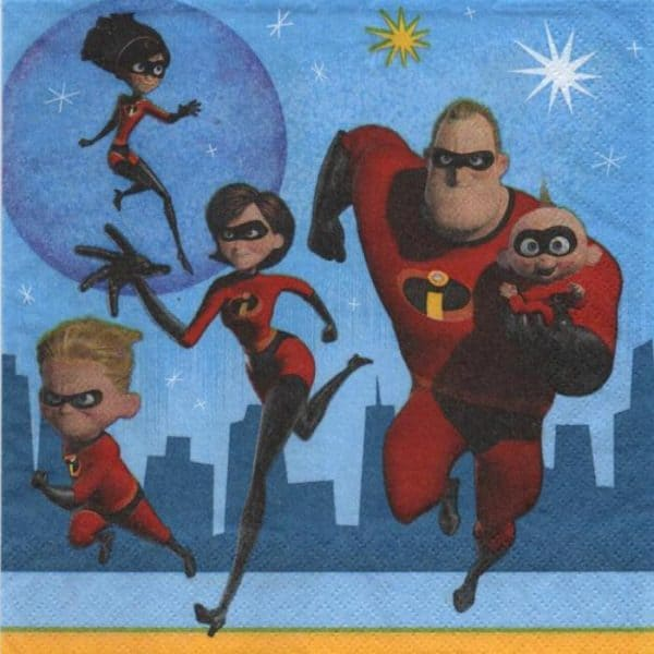 Serviette Incredibles 2