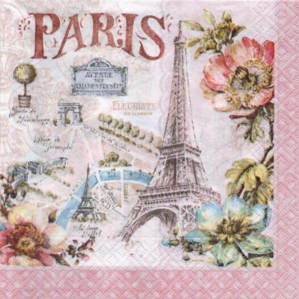 Serviette Paris